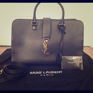 Saint Laurel calfskin medium Authentic handbag